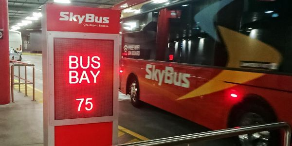 SkyBus has a new departure point at Southern Cross Station