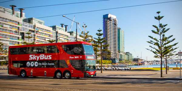 Skybus launches new direct airport express for Southbank and Docklands