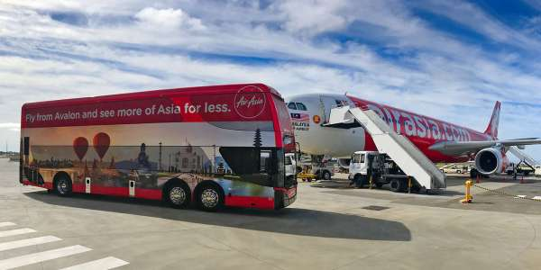 SkyBus Avalon AirAsia Express to Melbourne City