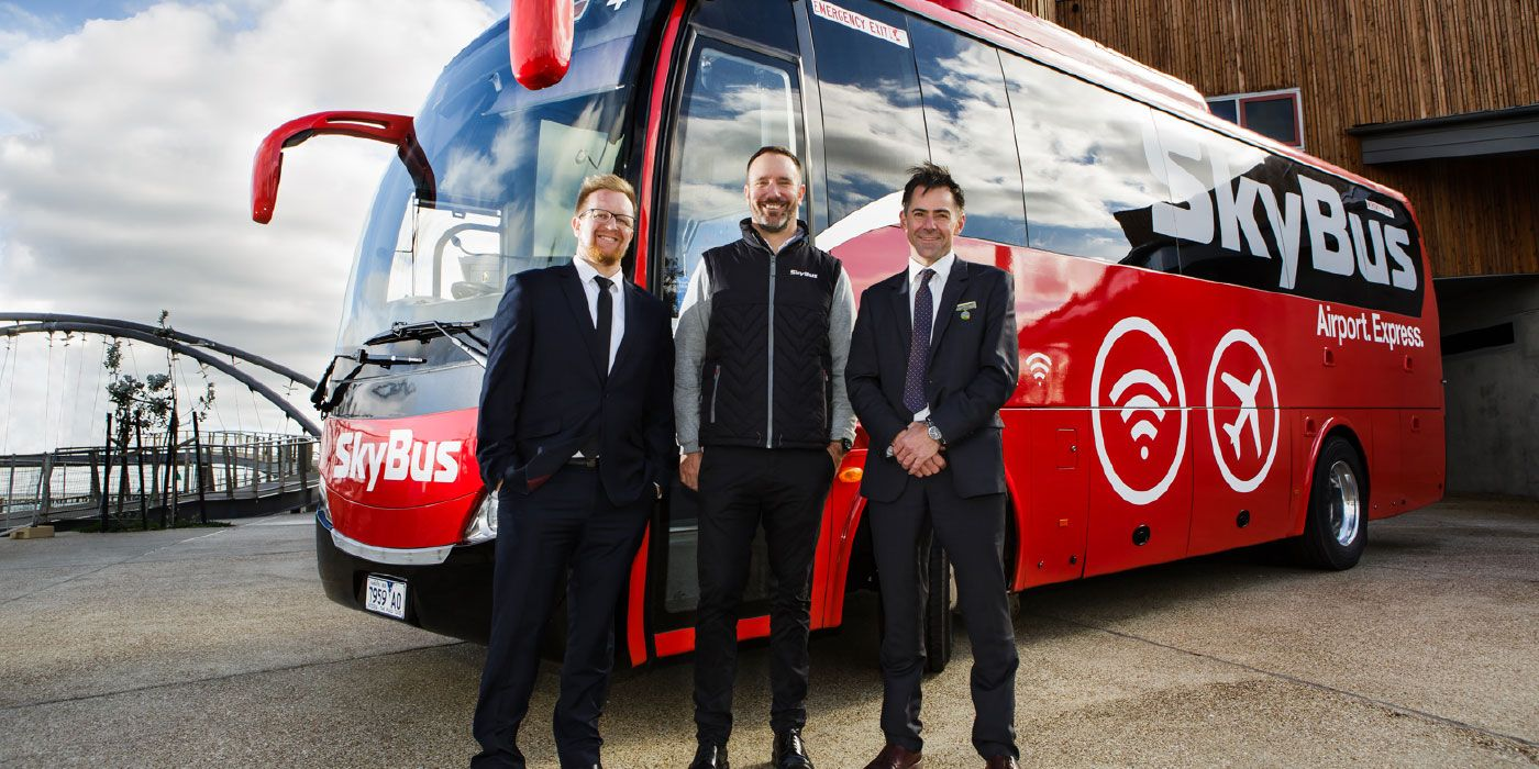 SkyBus improves airport transport solutions