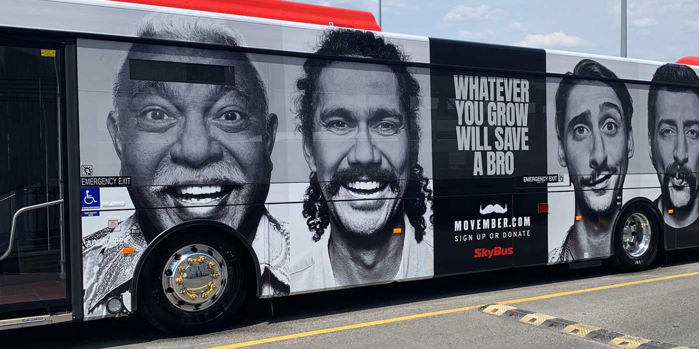 SkyBus Grows a Mo to Save a Bro!