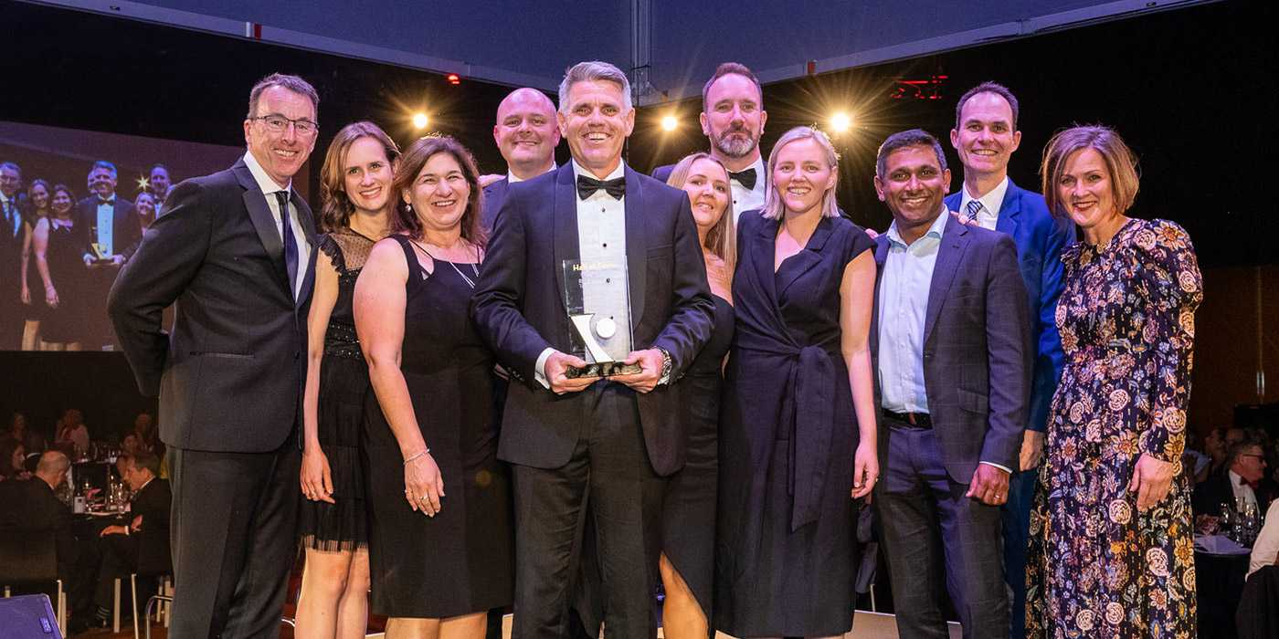 Hall of Fame winners SkyBus shine at the 2019 Victorian Tourism Industry Awards