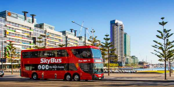 New SkyBus Docklands Drive stop launched