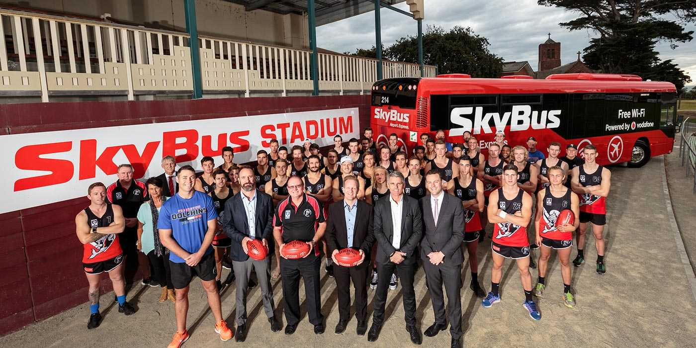 SkyBus Stadium announced after Major Sponsorship Deal with the Frankston Football Club