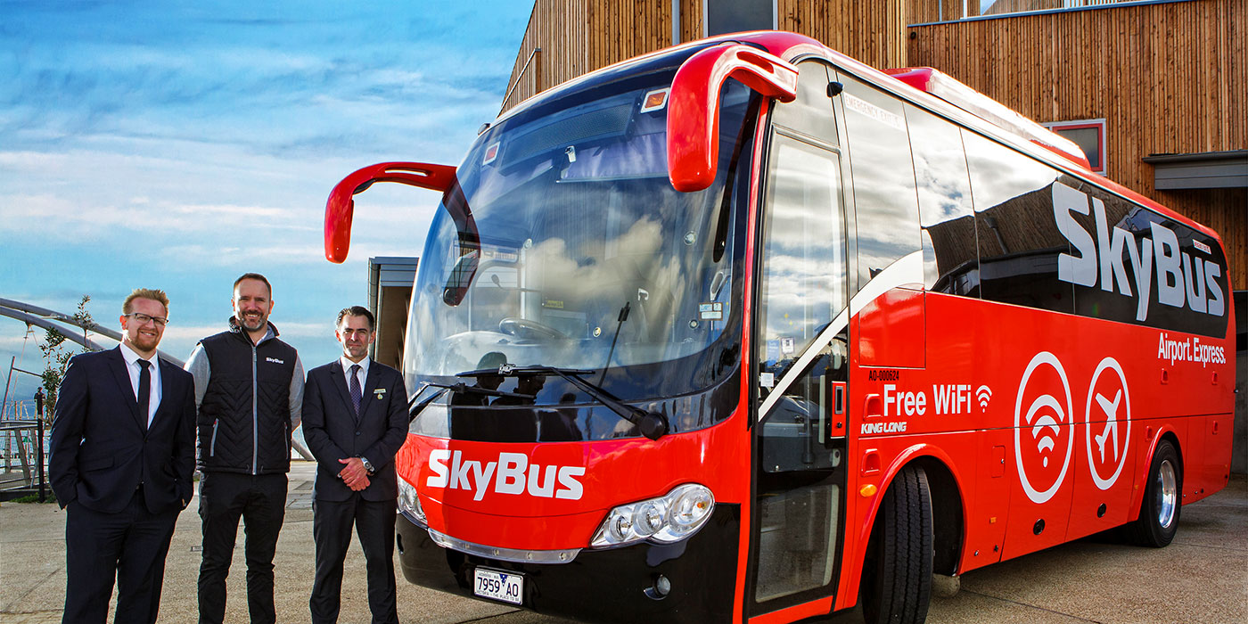 SkyBus arrives in Frankston