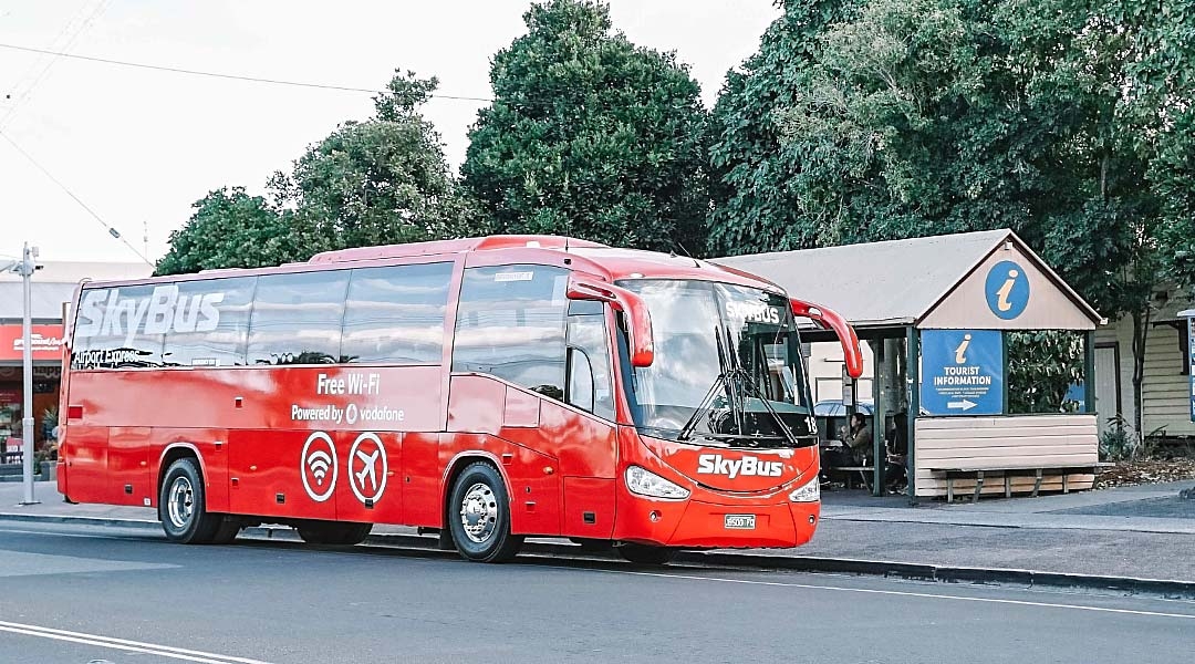 SkyBus Byron Bay stops