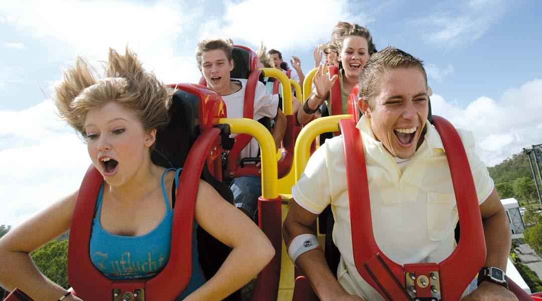 Gold Coast Theme Park and attractions