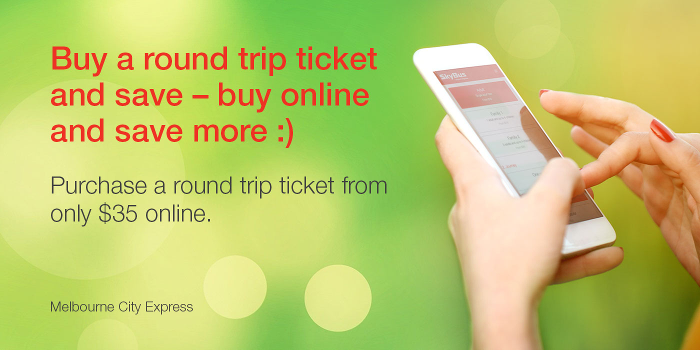 Save with SkyBus round trip & online fares