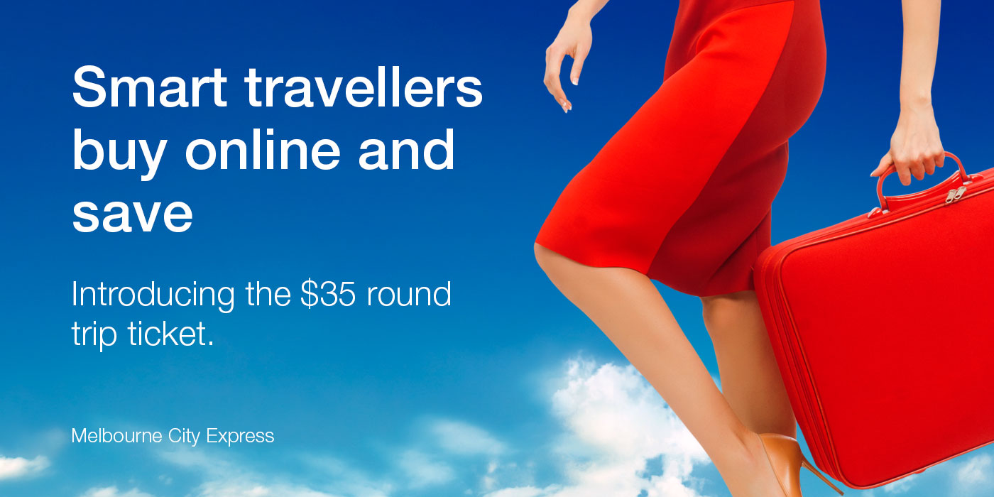 Smart travellers buy online and save