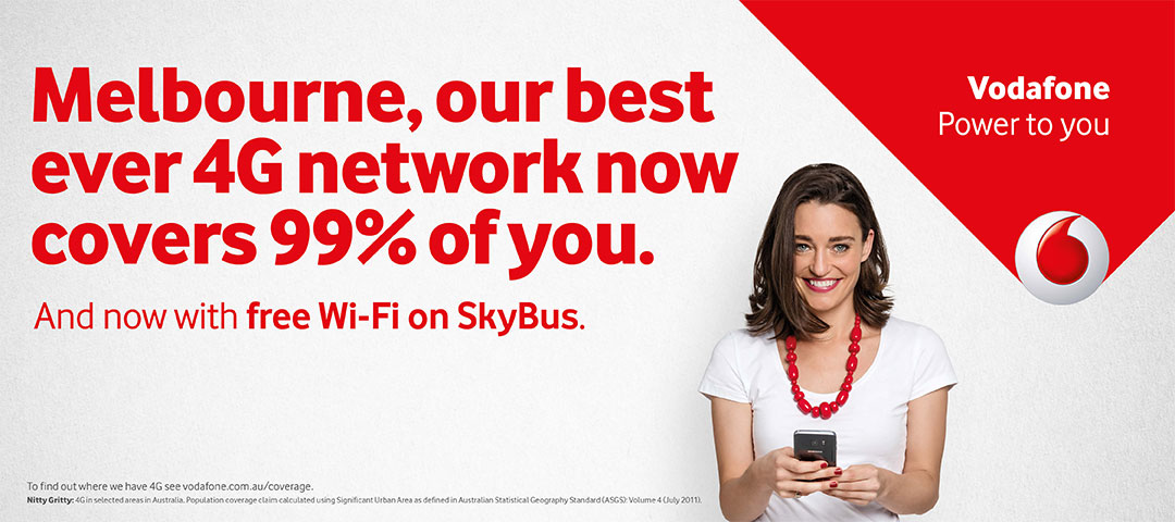 Vodafone free Wi-Fi on board